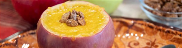 Rinaldi® Roasted Pumpkin Soup in Apple Bowl